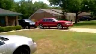 99 Cadillac Deville On 24s