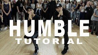 'HUMBLE' - Kendrick Lamar Dance TUTORIAL   @MattSteffanina Choreography