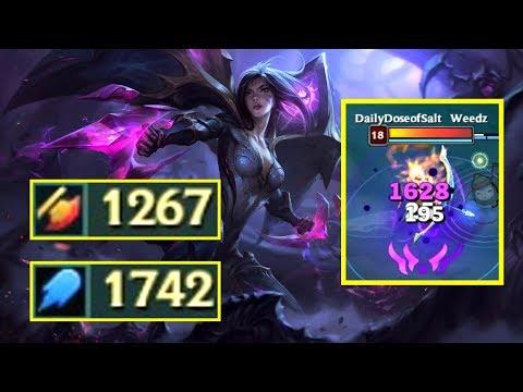 新英雄 凱莎Kai'Sa 1200+ AD & 1700+ AP! 傷害時測