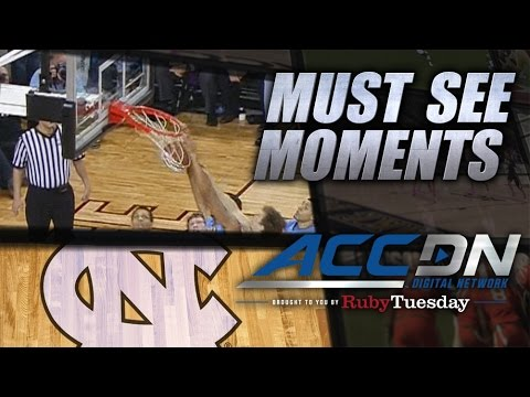 Video: Brice Johnson's Dunk Goes In & Comes Back Out