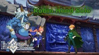 Robin Hood Solo Wazahamimaru 3,000,000 HP Raid Boss - Onigashima [FGO NA]