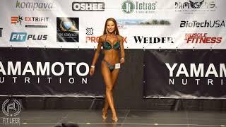 Zuzana Satmaryová | i-walk Bikini Fitness do 164cm | Tatranský pohár 2018