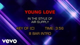 Air Supply - Young Love (Karaoke)