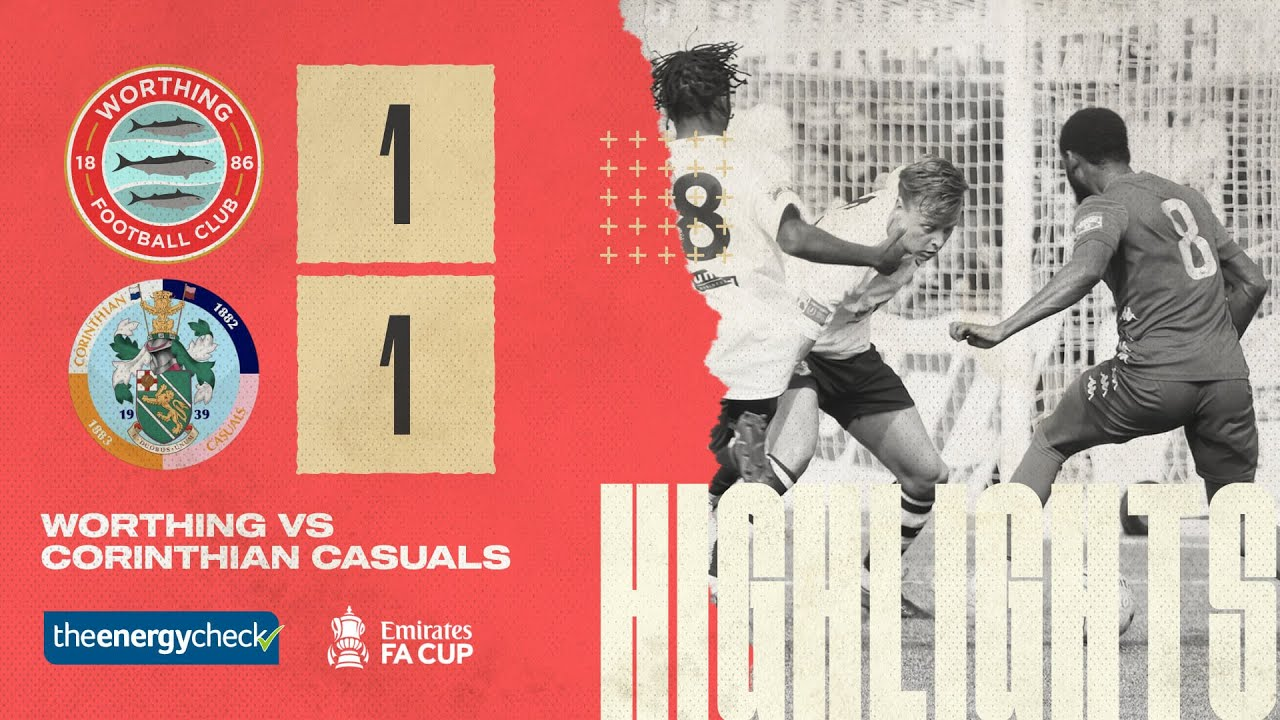 Thumbnail for Highlights: Worthing 1-1 Corinthian Casuals