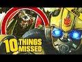 Bumblebee Trailer Breakdown  Easter Eggs Amp Things Missed