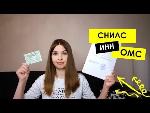 Как получить СНИЛС, ОМС, ИНН в России