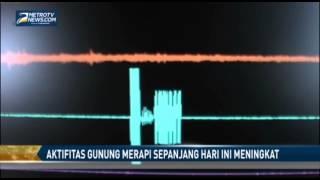 Aktifitas Gunung Merapi Sepanjang Hari Ini Meningkat