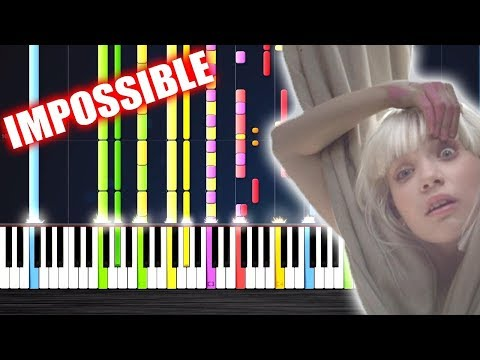 Sia - Chandelier - IMPOSSIBLE PIANO by PlutaX