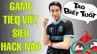 CrisDevilGamer chơi Game Tiếq Việt siêu hack não | TAO BIẾT TUỐT