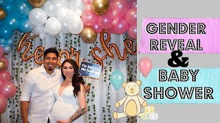 Our Gender Reveal & Baby Shower