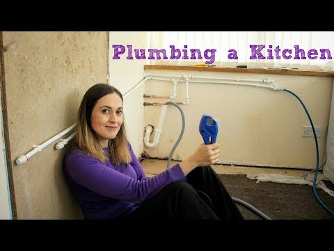 Utility Kitchen Part 2: Speedfit Plumbing DIY | The Carpenter's Daughter
