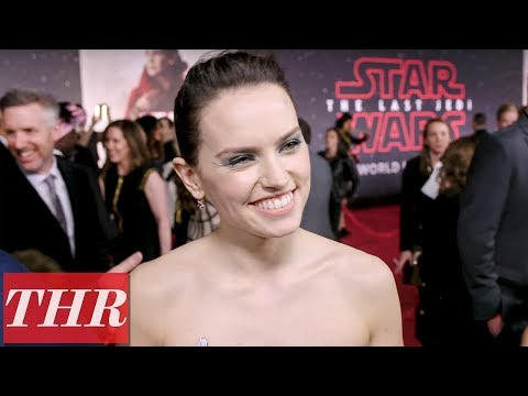 Daisy Ridley on The Importance of Her Character 'Rey' in 'Star Wars: The Last Jedi'   THR
