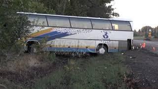 В Краснодарском крае в ДТП с автобусом пострадали 22 человека