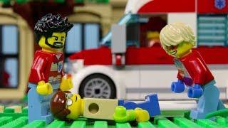 LEGO City Hospital Fail STOP MOTION LEGO City: Billy Get