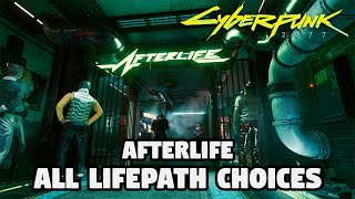 Meeting Jackie at Afterlife - All Lifepath Choices
