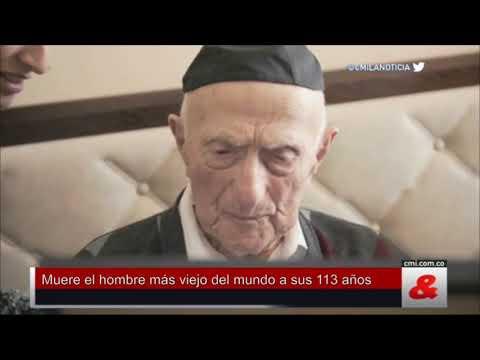 Muere el hombre más viejo del mundo a sus 113 años