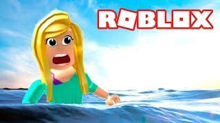 ПОЛ ЭТО ВОДА РОБЛОКС челлендж в роблокс Выживание в игре ROBLOX