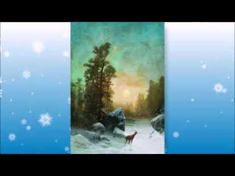 зимние картины русских художников