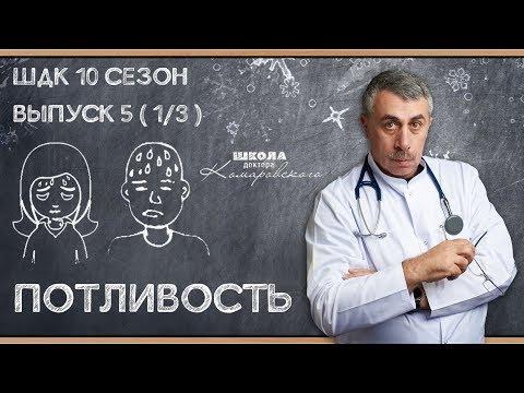 Потливость - Доктор Комаровский