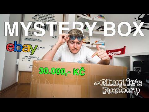 OTEVÍRÁM SNEAKERS MYSTERY BOX ZA 30.000KČ?! (ebay edice)
