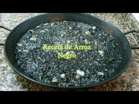 Receta fácil de arroz negro