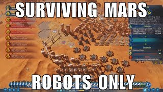 Surviving Mars: Robots Only colony