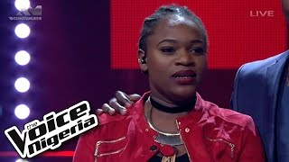 "Brenda Sings ""All About That Bass"" Live Show  The Voice Nigeria 2016"