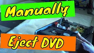 Blu-Ray/Dvd player door will not eject. Easy Fix
