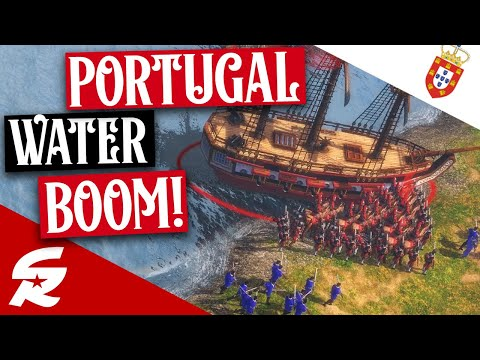 Portugal Water BOOM!!! | Strategy School | Age of Empires III