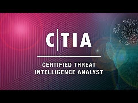 Certified Threat Intelligence Analyst (C TIA) - YouTube