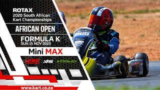 2020 African Open – Mini MAX