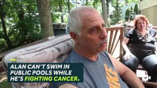 HUMANKIND | Dad with cancer gets surprised with new pool