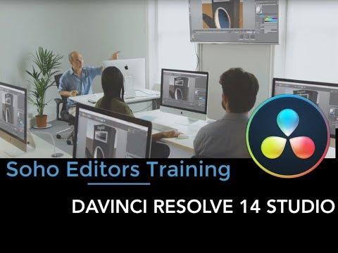 Davinci Resolve Training London Classroom - Tutorials - Online ...