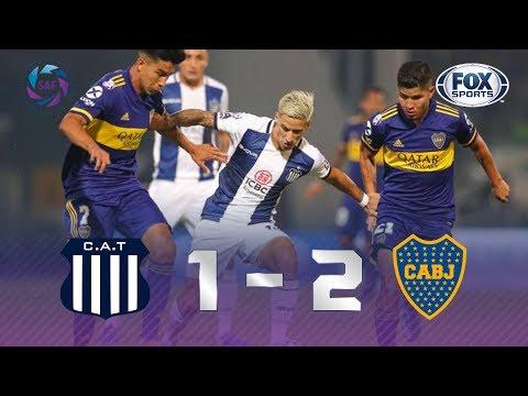 QUE JOGO TENSO, MEUS AMIGOS! Veja os melhores momentos de Talleres 1 x 2 Boca Juniors