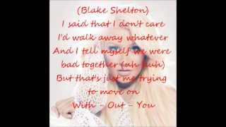 Christina Aguilera - Just a Fool (Ft. Blake Shelton) (Lyrics On Screen)