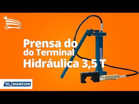 Prensa do Terminal Hidráulica 3,5 T - Video