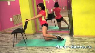 Смотреть онлайн Комплекс упражнений калланетики для бедер и ягодиц