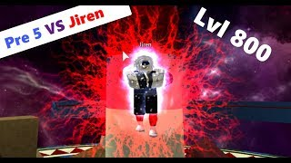 Prestige 5 VS Jiren (Hard Challenge) | DBZ Final Stand
