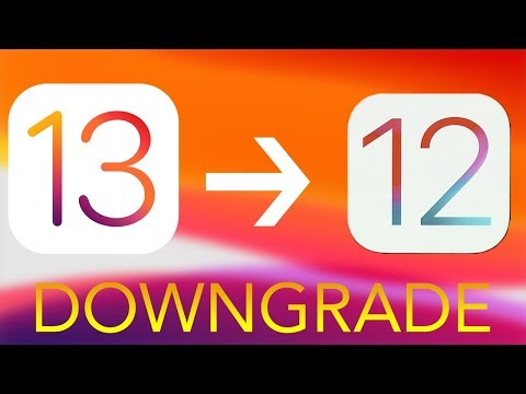 Download How To Downgrade Ios 12 Back To Ios 11 Video 3GP Mp4 FLV HD