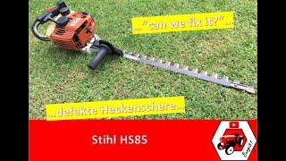 Heckenschere geht nicht mehr | Reparatur Stihl HS85