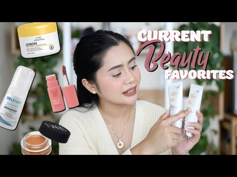 CURRENT BEAUTY FAVORITES! | Anna Cay ♥