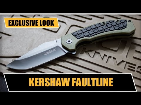 EXCLUSIVE REVIEW: Kershaw Faultline — Budget-Friendly, No-Slip EDC Flipper Pocket Knife | 2018