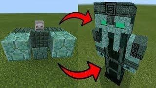 Tìm Thấy Vua Thủy Tề Ở Ngôi Đền Dưới Biển !!! - Minecraft PE