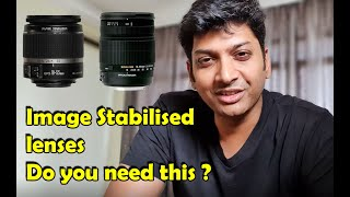 Do You Need Image Stabilized Lenses ?