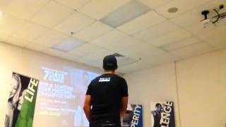 Tony Lucero LST 9-8-13 Promoting the Challenge!