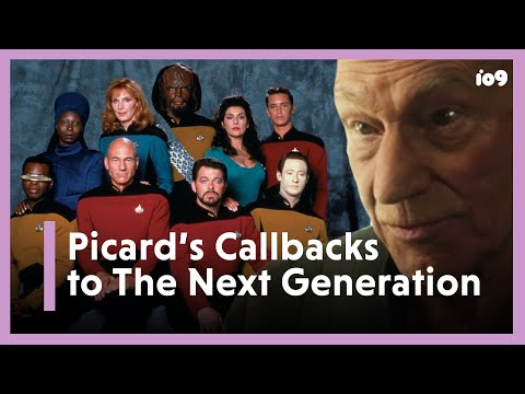 Star Trek: Picard's Best Callbacks To The Next Generation