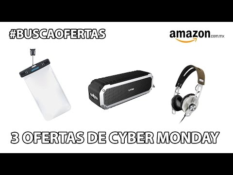 Lunes largo: Ofertas de Cyber Monday en Amazon México