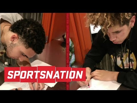 LaMelo and LiAngelo Ball 'not going to work' in Lithuania   SportsNation   ESPN