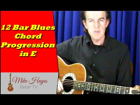 Blues Guitar Chords: 12 Blues Chord Progression in the Key of E