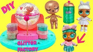 LOL Surprise DIY Glitter Factory Make Your Own Custom LOL Doll